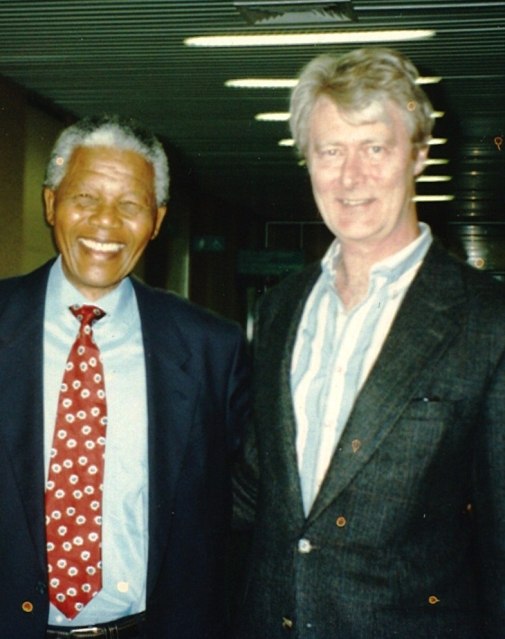 Nelson Mandela and Padraig O'Malley
