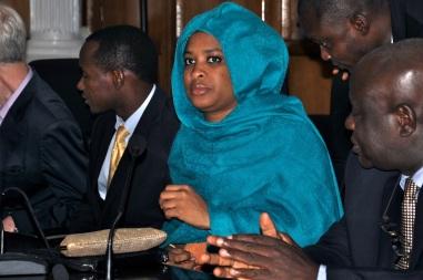 Hadeeza Remawa (ACAI Events) at inauguration of FCT 2013 Local Organisation Committee.