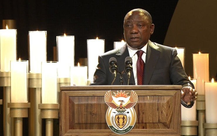 Notes for Ramaphosa eulogy to Mandela (Prof. Padraig O'Malley)