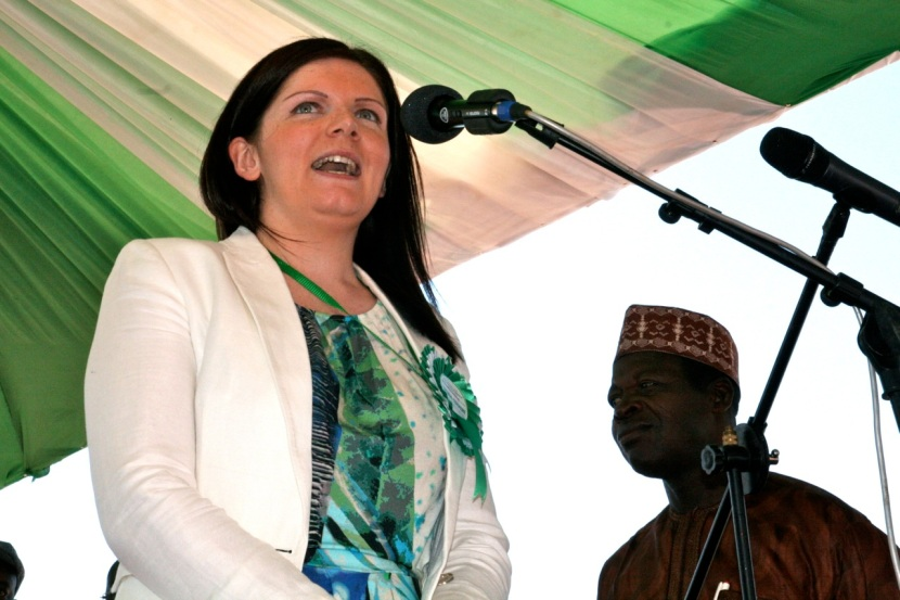 Learning from others at Nigerian conference: Laura McNamee