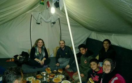 Dinner in Tent