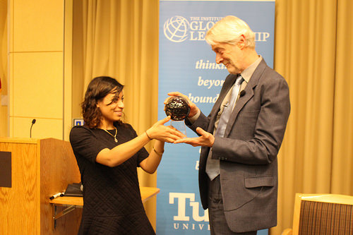 Padraig O'Malley receives prestigious Dr. Jean Mayer Global CitizenshipAward