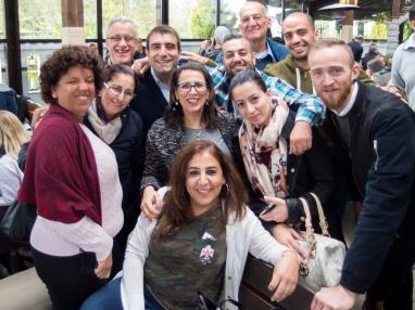 Laila ATSHAN, Khairyeh KHAMRA, Fathi MARSHOOD, Arine HASSAN, Doa WADI, Jumana SALOUS, Wael HASSAN, Suheil OMARI, Bilal HUSSEIN, Fraser COOK, and Tharwat ALSHAMI