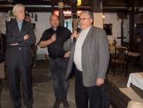 Padraig O'MALLEY, Emilian KERCHEV, and Mayor of Stolat